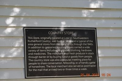 Country Store Marker image. Click for full size.