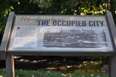 Murfreesboro The Occupied Marker image. Click for full size.