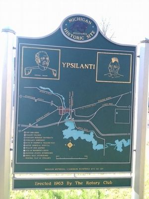 Ypsilanti Marker image. Click for full size.