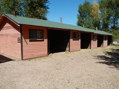 Orange and Black Garage Camp Cabins image. Click for full size.