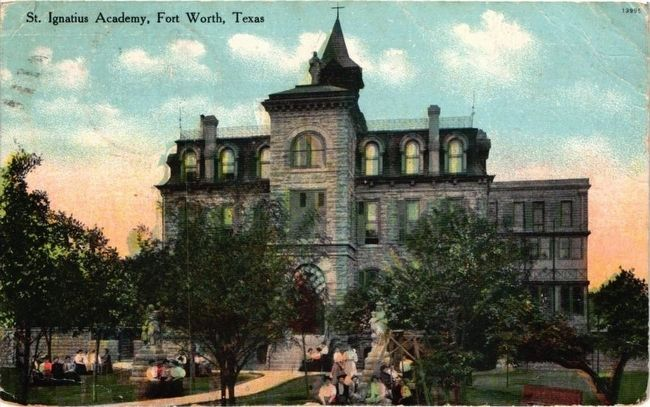 <i>St. Ignatius Academy, Fort Worth, Texas</i> image. Click for full size.