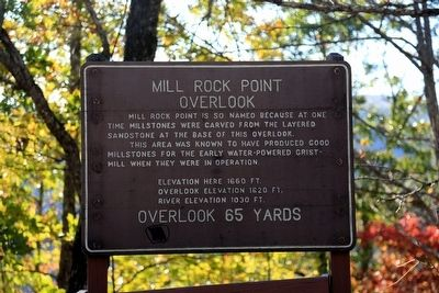 Mill Rock Point Overlook Marker image. Click for full size.