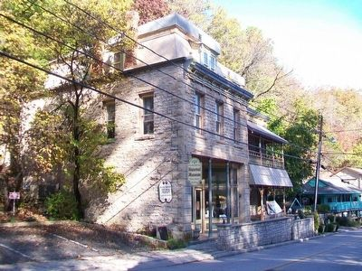 Eureka Springs Historical Museum and Marker image. Click for full size.