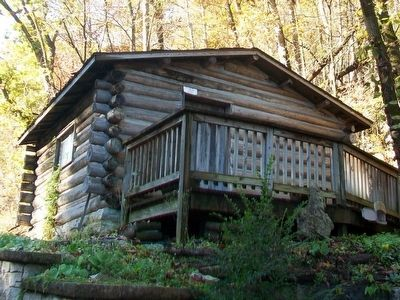 Cora Pinkley Call Cabin at the Eureka Springs Historical Museum image. Click for full size.