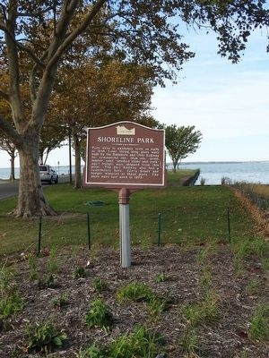 Shoreline Park Marker image. Click for full size.