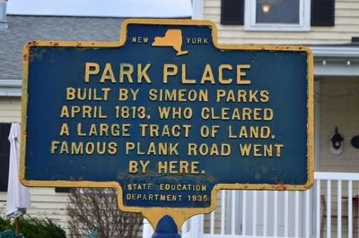 Park Place Marker image. Click for full size.