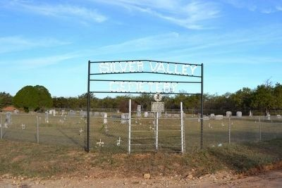 Entrance to Silver Valley Cemetery image. Click for full size.