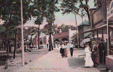 <i>The Midway, Cedar Point, Ohio</i> image. Click for full size.
