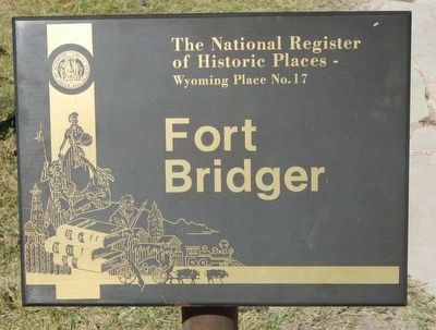 Fort Bridger image. Click for full size.