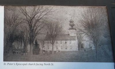 St. Peter's Episcopal Church facing North St. image. Click for full size.