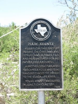Isaac Kountz Marker image. Click for full size.
