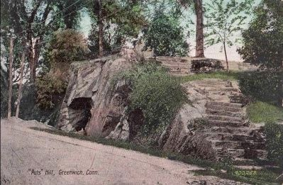 """Put&#39;s Hill"", Greenwich, Conn.</i> image. Click for full size."