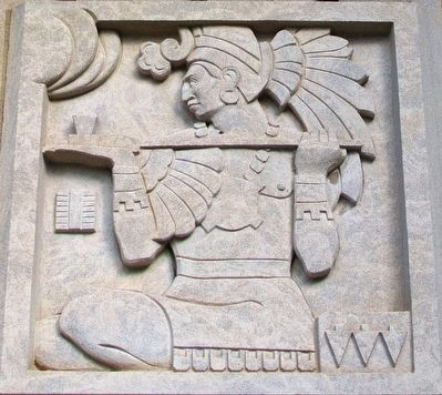 Hall of Waters Mayan Art Deco image. Click for full size.