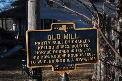 Old Mill Marker image. Click for full size.
