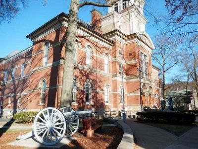 Huntingdon County Courthouse-Full view image. Click for full size.