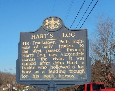 Hart's Log Marker image. Click for full size.