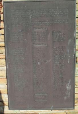 Henryetta War Memorial Marker image, Touch for more information