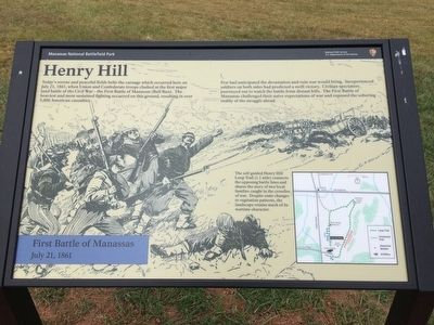 Henry Hill Marker image. Click for full size.