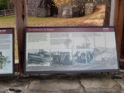 An Industry in Ruins Marker image. Click for full size.