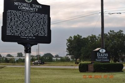 Mitchell Town Community Marker image. Click for full size.