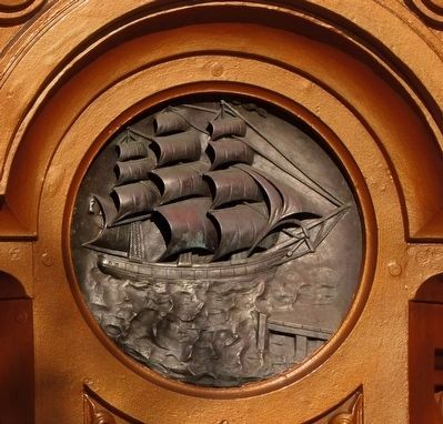 Clipper Ship image. Click for full size.