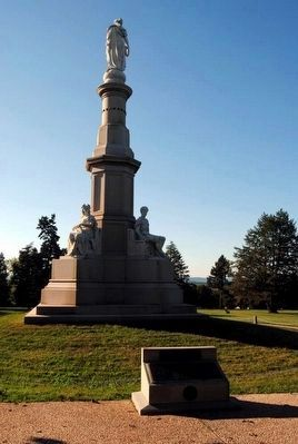 Kentucky Monument image. Click for full size.