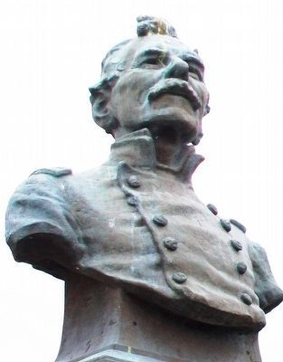 Bust of General James Shields image. Click for full size.