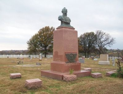 General James Shields Monument image. Click for full size.