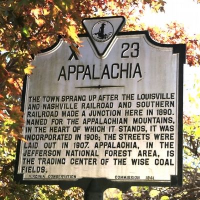 Appalachia Marker image. Click for full size.