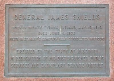 General James Shields Marker image. Click for full size.
