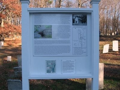 East Plymouth and St. Matthew's Cemetery Marker image. Click for full size.