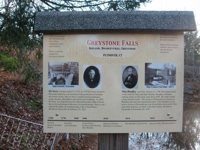Greystone Falls Marker image. Click for full size.