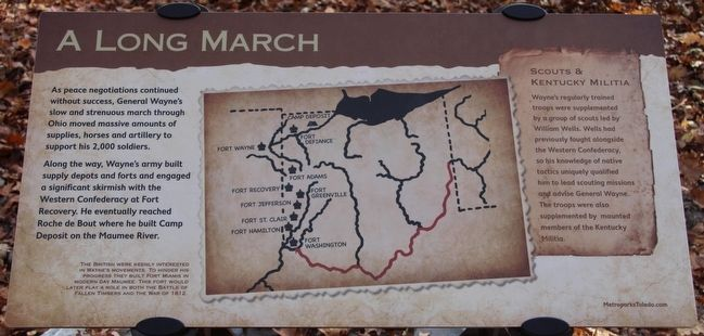 A Long March Marker image. Click for full size.