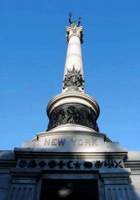 New York State Monument Column image. Click for full size.