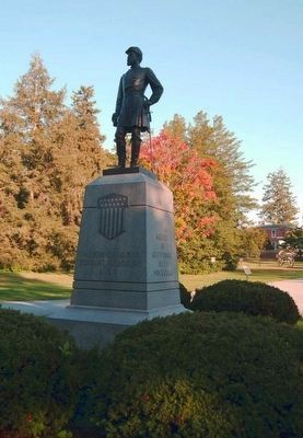 Major General John Reynolds Monument image. Click for full size.
