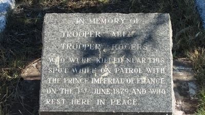 Troopers Abel and Rogers Memorial Marker image. Click for full size.