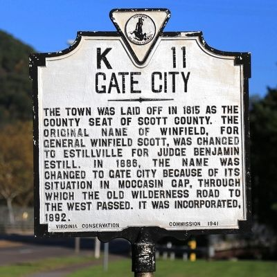 Gate City Marker image. Click for full size.