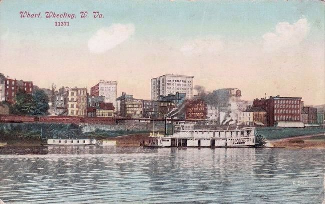 <i>Wharf, Wheeling, W. Va.</i> image. Click for full size.