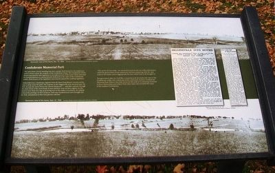 Confederate Memorial Park Marker image. Click for full size.
