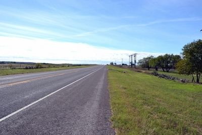 View to South Along US 87 image. Click for full size.