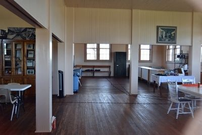 Interior of Peter's Prairie School image. Click for full size.