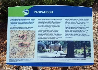 Paspahegh Marker image. Click for full size.