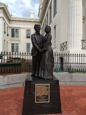 Dred and Harriet Scott Marker image. Click for full size.