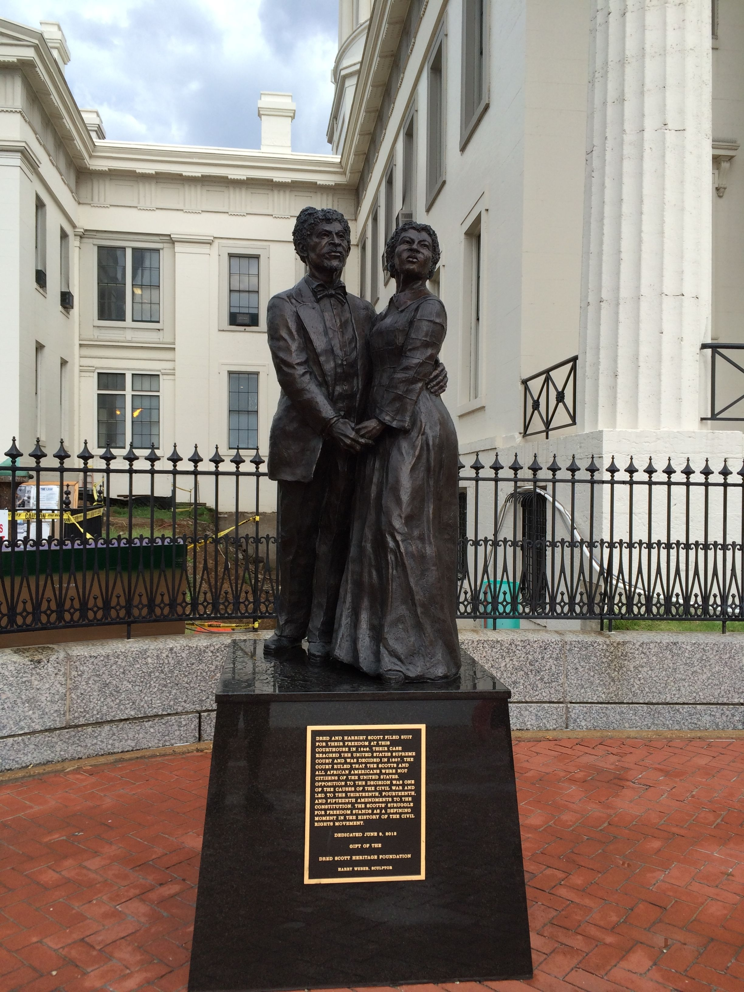 Dred and Harriet Scott Marker