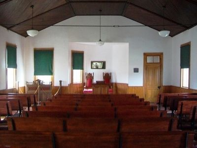 Confederate Home Chapel Interior image. Click for full size.