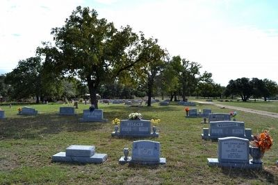 Stonewall Community Cemetery image. Click for full size.