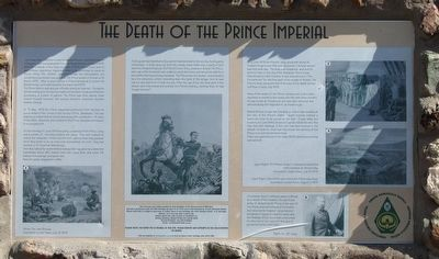 The Death of the Prince Imperial Marker image. Click for full size.