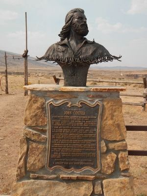 John Colter bust image. Click for full size.