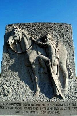 1st Maine Cavalry Monument image. Click for full size.