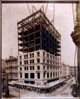 Shreve Building Under Construction<br> image. Click for full size.